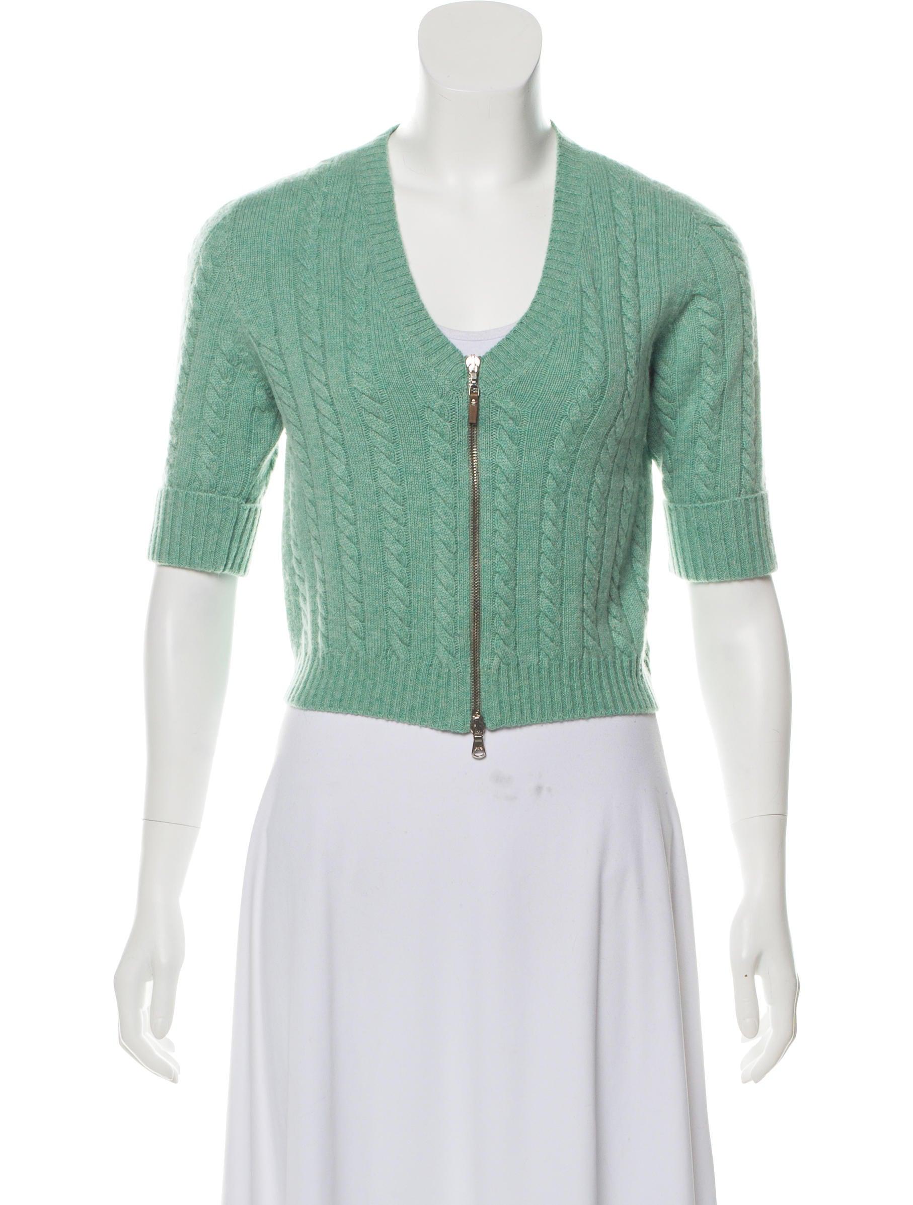 e52e81278f Brunello Cucinelli Cropped Cashmere Cardigan - Clothing - BRU79421 ...