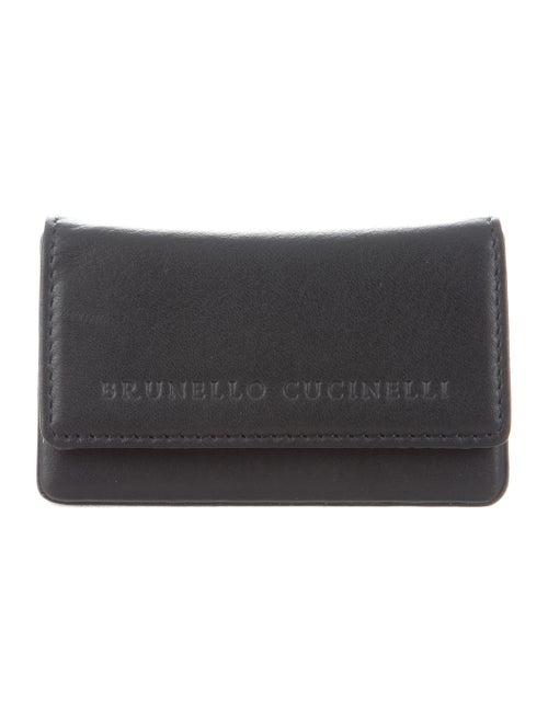a332e5ccbeac Brunello Cucinelli Leather Business Card Case w  Tags - Accessories ...