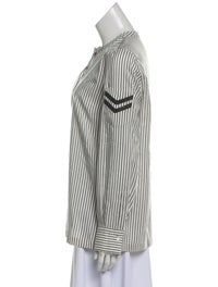Striped Silk Blouse image 2