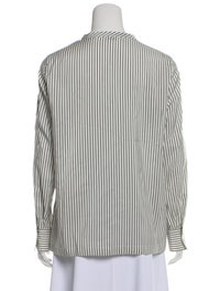Striped Silk Blouse image 3