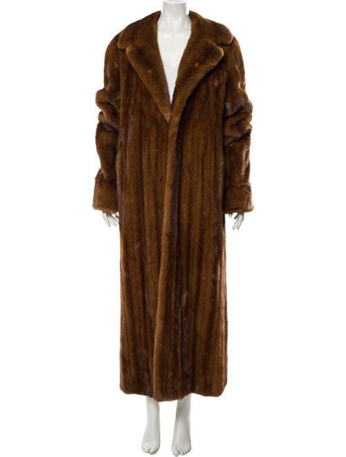 Bisang Couture Fur Coat Brown