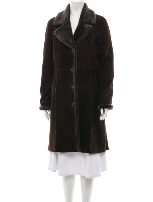 Bisang Couture Fur Coat Brown