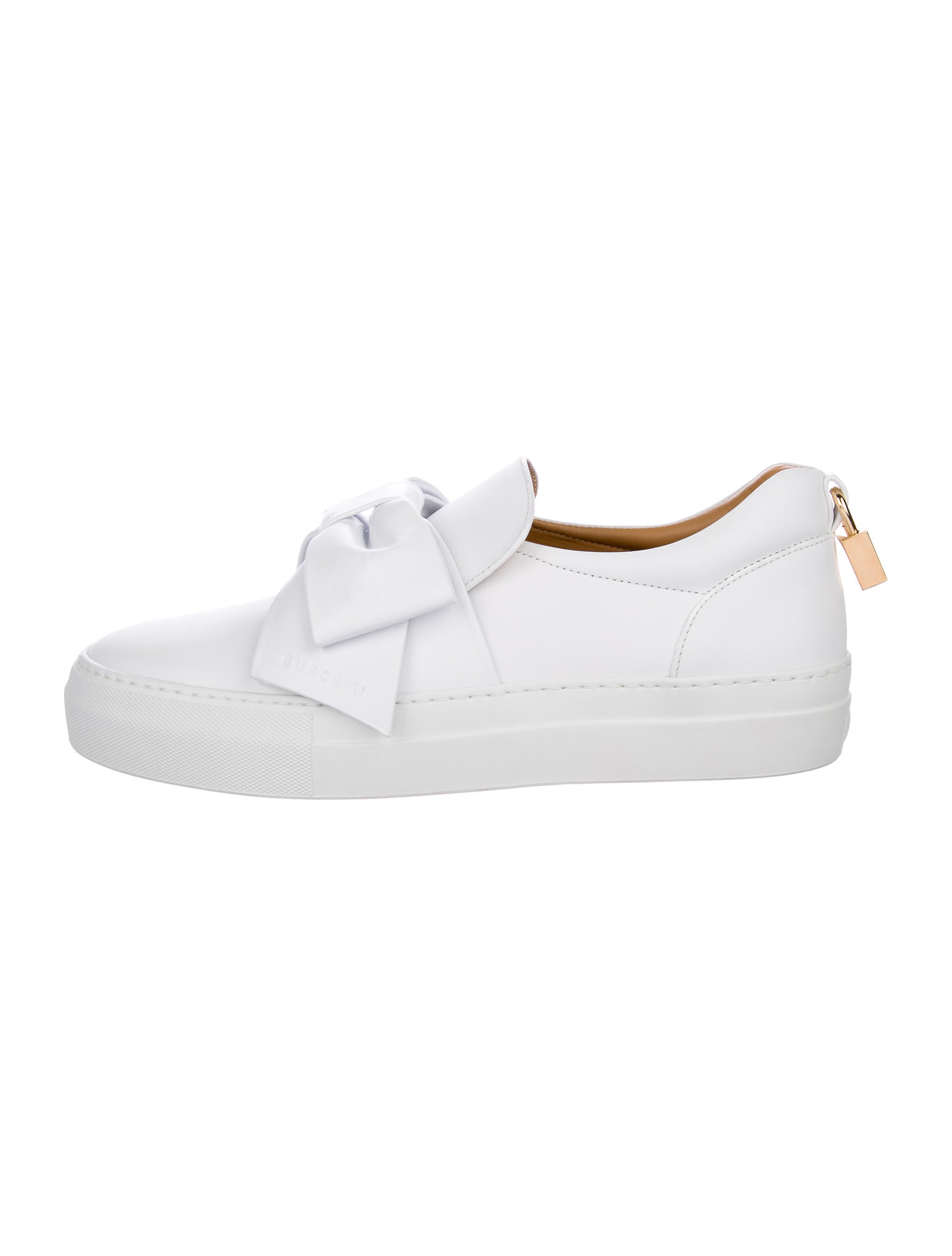 shopping online high quality popular sale online Buscemi 40MM Bow Sneakers w/ Tags xPLvCWDmv