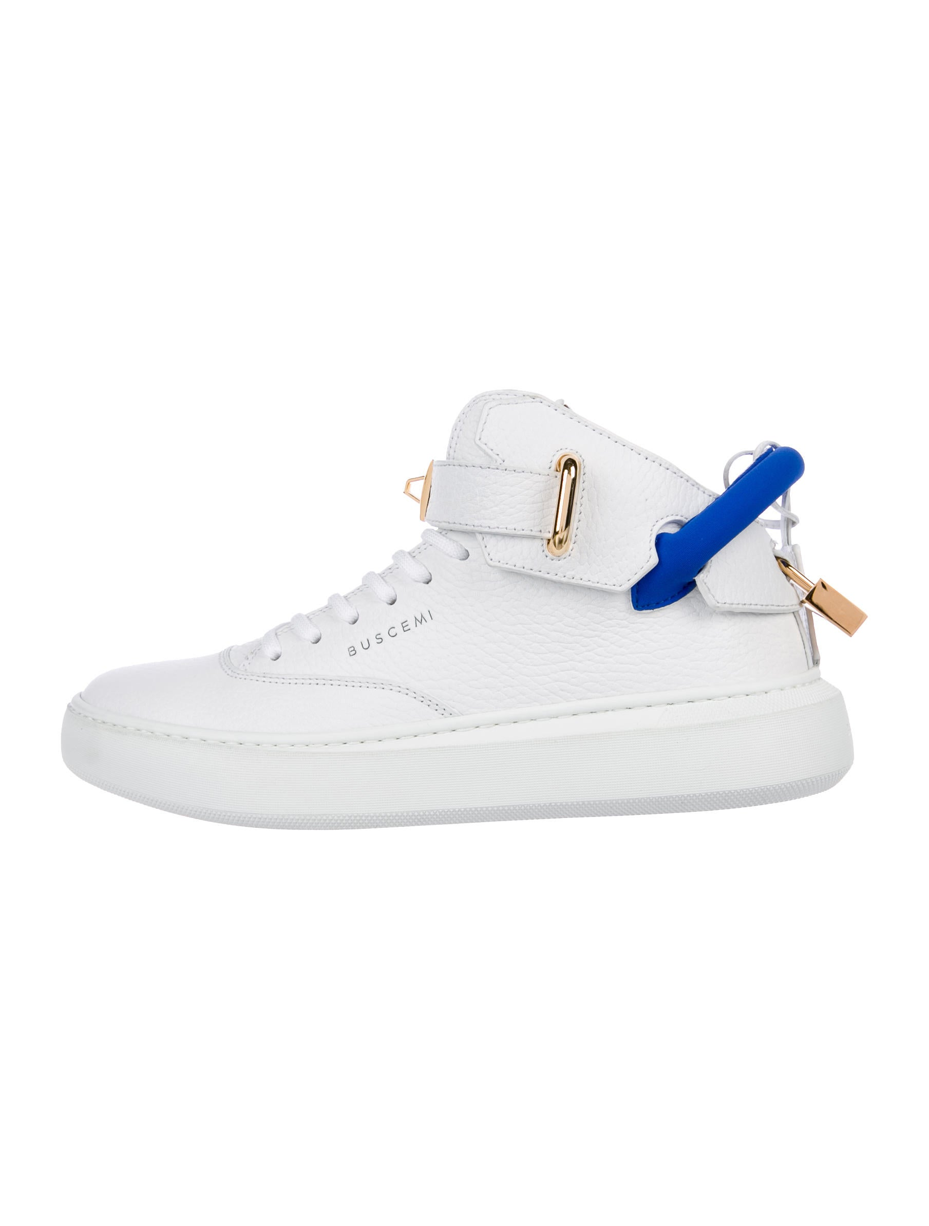 Buscemi High-Top Padlock Sneakers w/ Tags cheap manchester great sale VsHTge