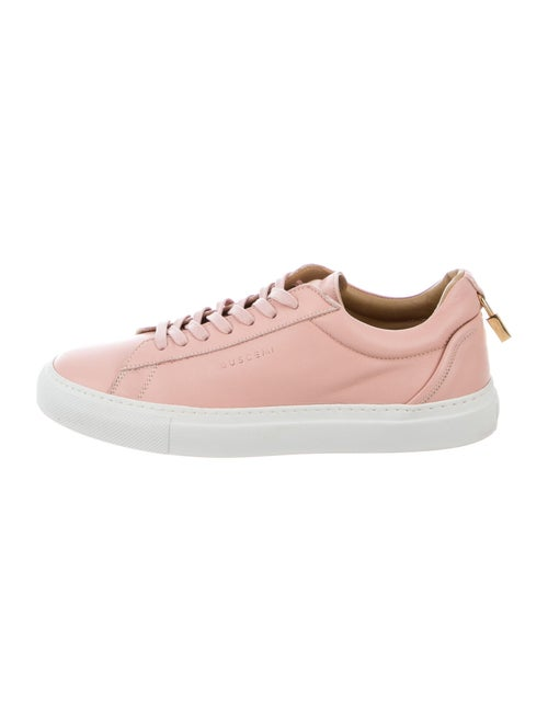 Buscemi Leather Sneakers Pink