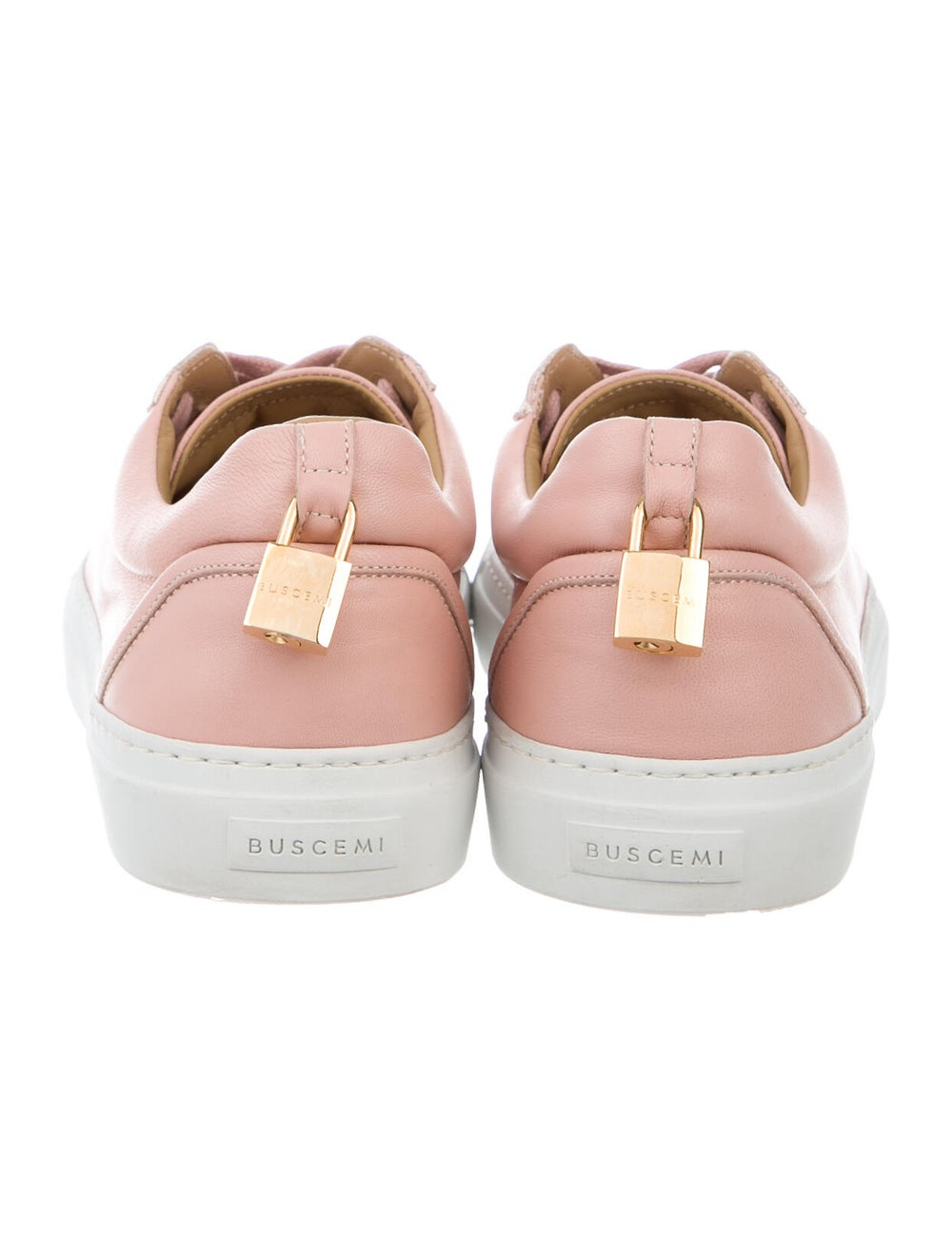 Buscemi Leather Sneakers Pink - image 4