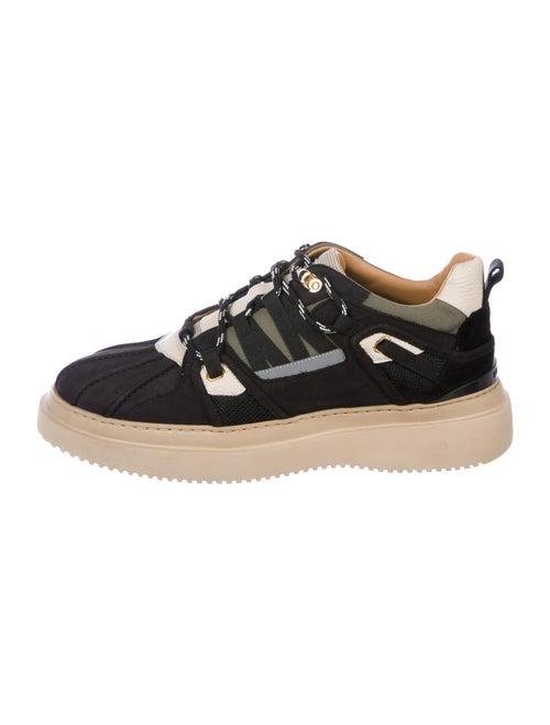 Buscemi Nubuck Printed Sneakers Black