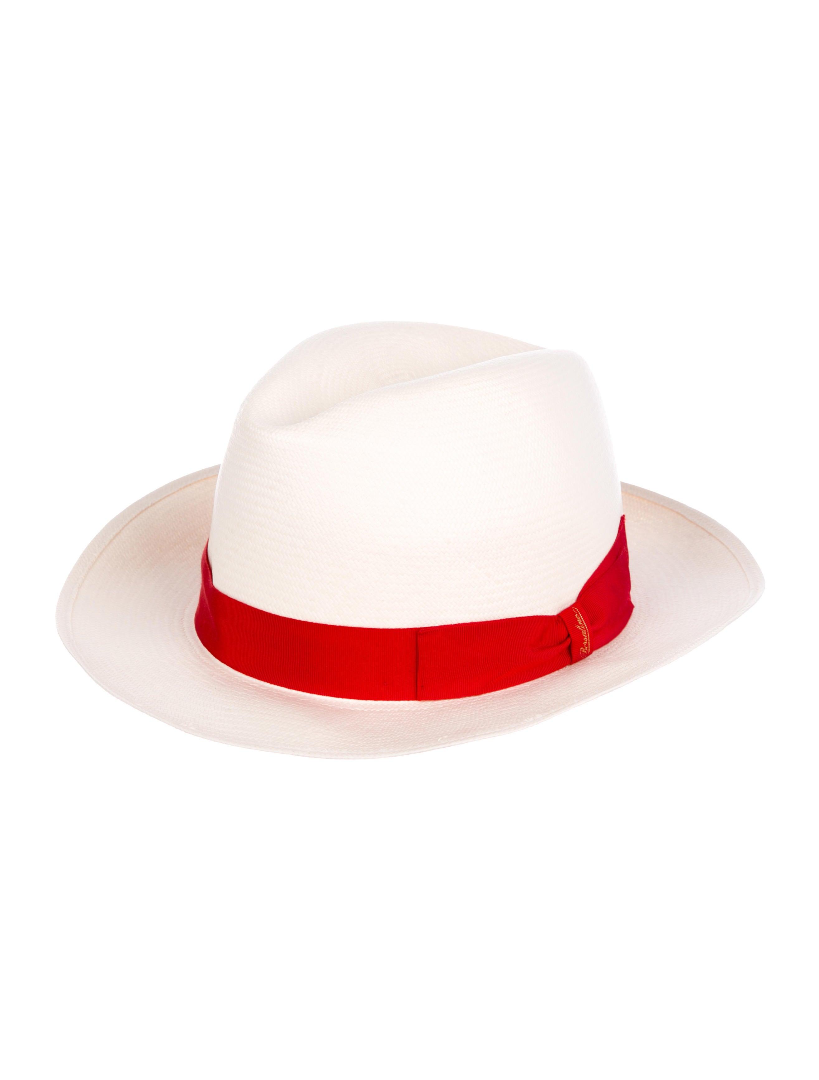 483143ac8ec Borsalino Straw Fedora Hat - Accessories - BSL20191