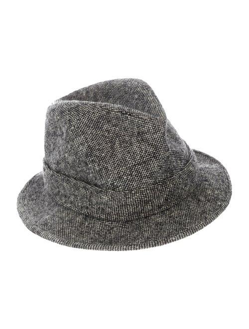 Borsalino Fedora Hat grey