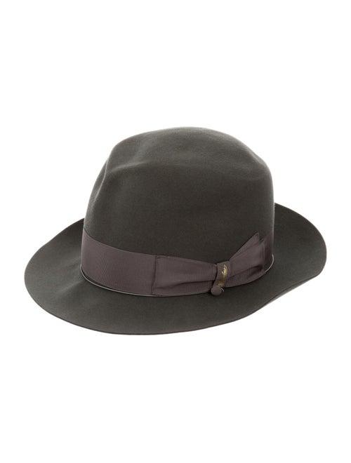 Borsalino Wool Fedora Hat Grey