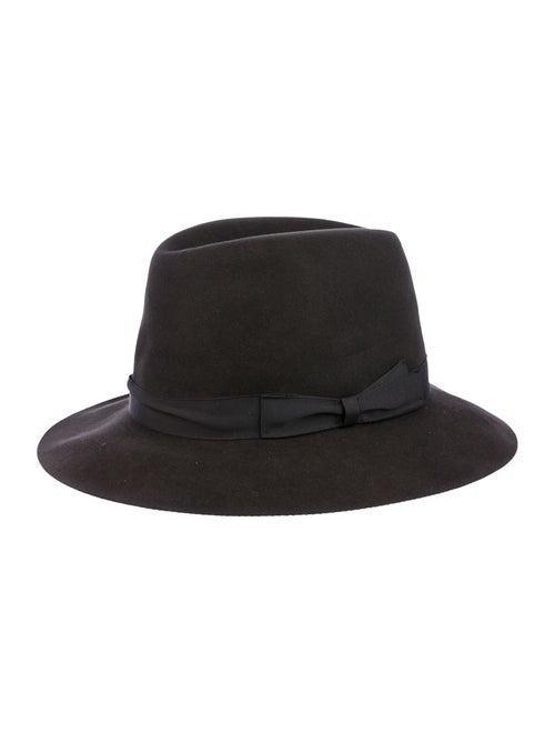 Borsalino Felt Cowboy Hat grey