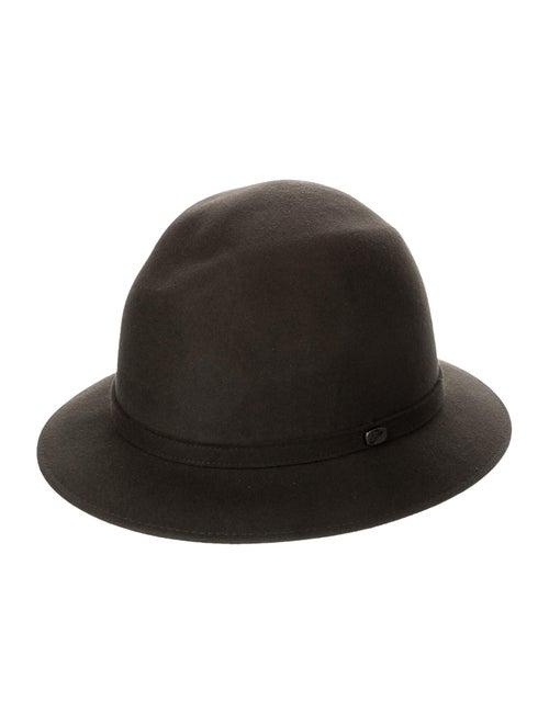 Borsalino Fur Felt Fedora hat Grey