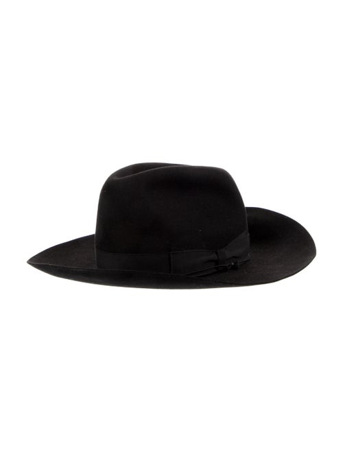 Borsalino Wide-Brim Fedora black
