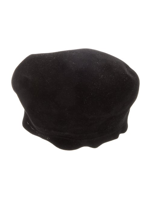 Borsalino Felt Beret Black - image 1
