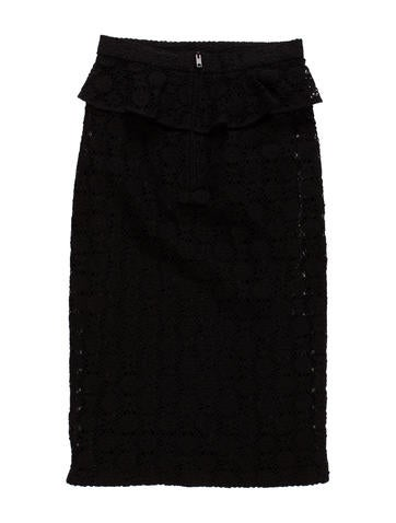 Lace Overlay Skirt w/ Tags