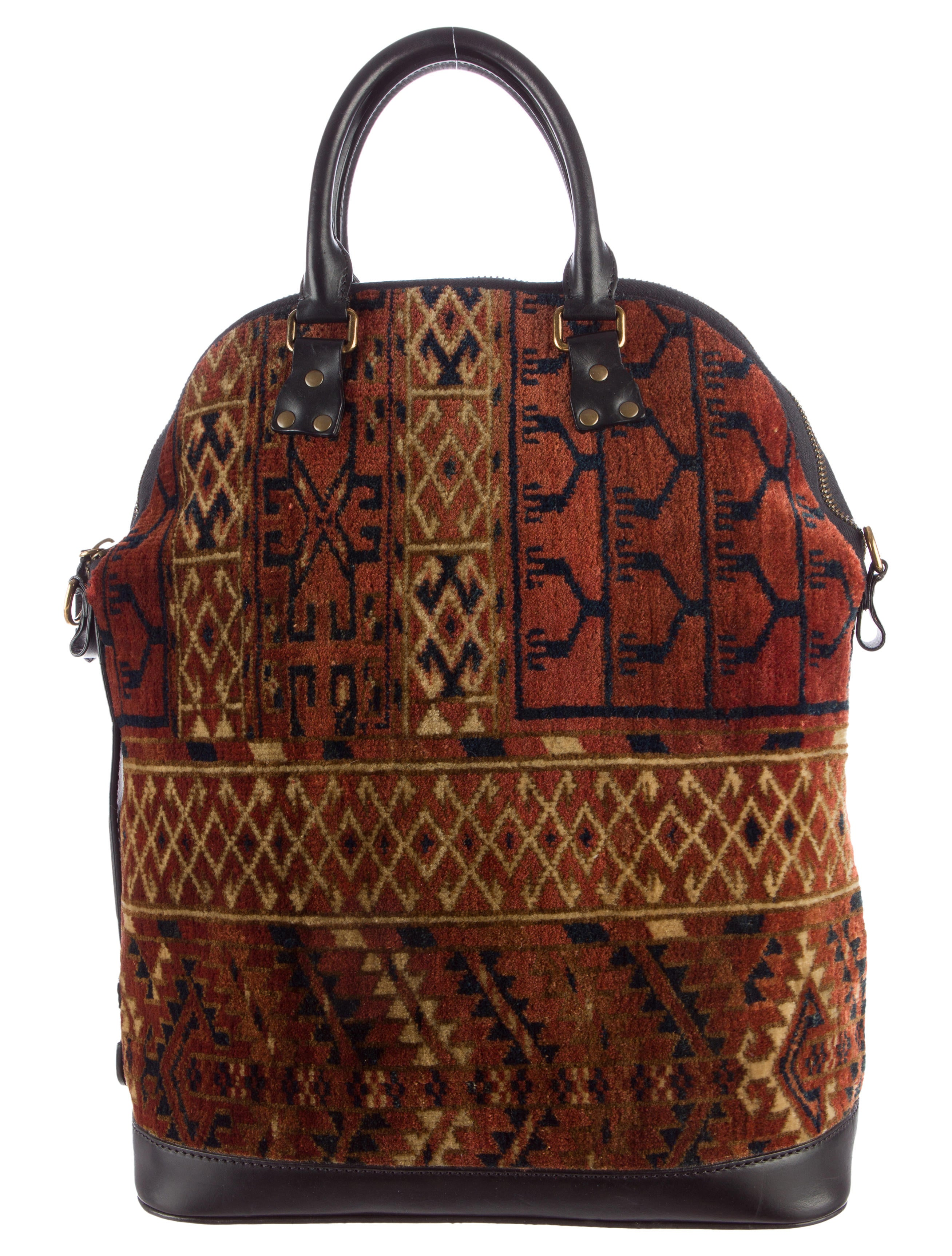 Burberry Prorsum Bloomsbury Tapestry Bag Bags Buf21311