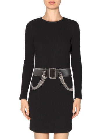 Leather Chain Belt w/ Tags