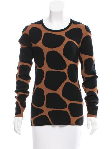 Burberry Prorsum Merino Wool & Silk-Blend Sweater None