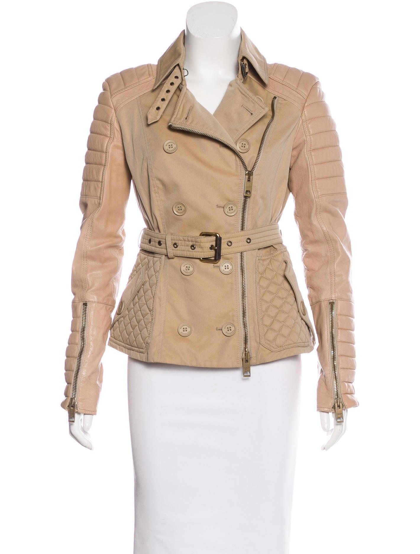 Prorsum leather jacket