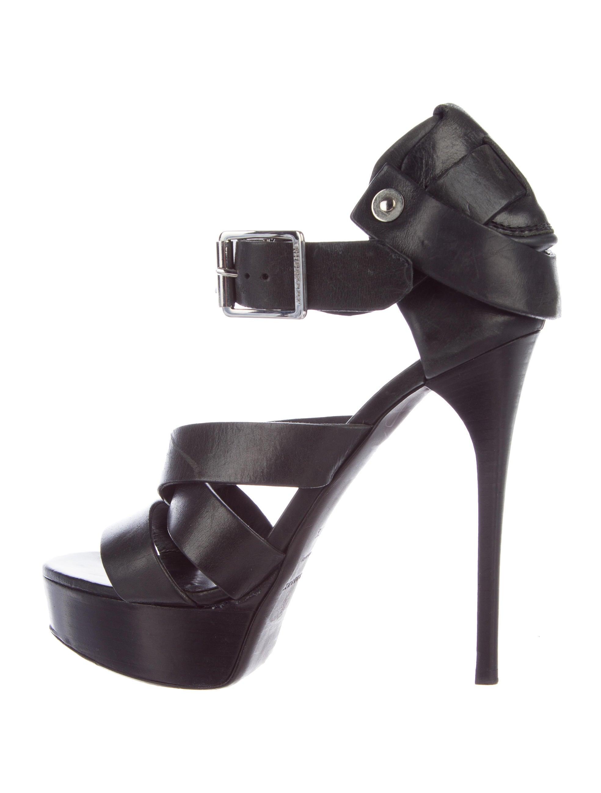 burberry prorsum multi platform sandals shoes