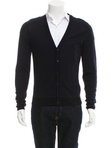 Burberry Prorsum Wool & Silk-Blend Cardigan None