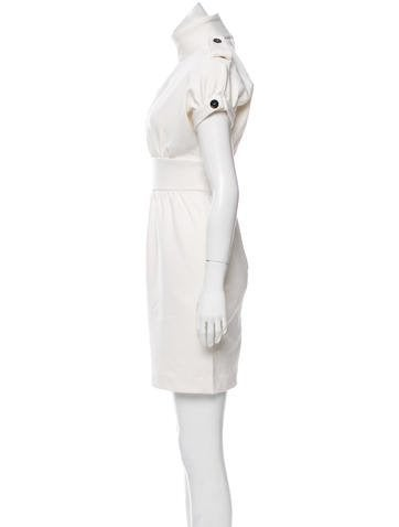 burberry prorsum the realreal Prom Pictures From 1970s burberry prorsum short sleeve mini dress