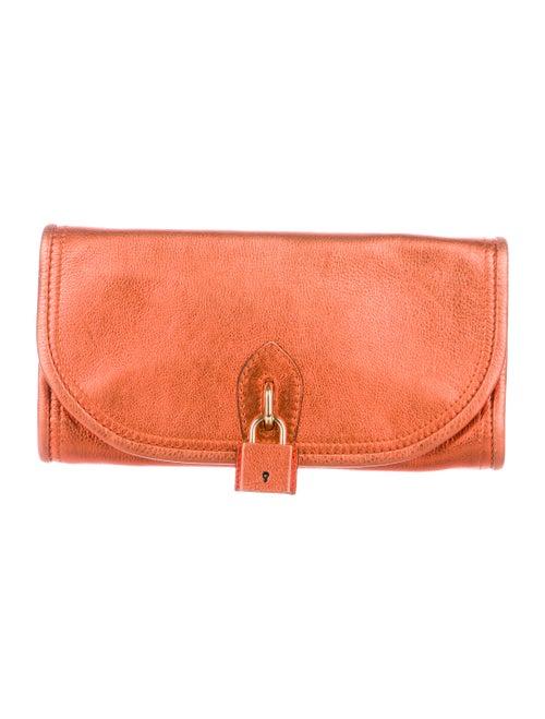 fdba35b94d67 Burberry Prorsum Metallic Lock Clutch - Handbags - BUF26959