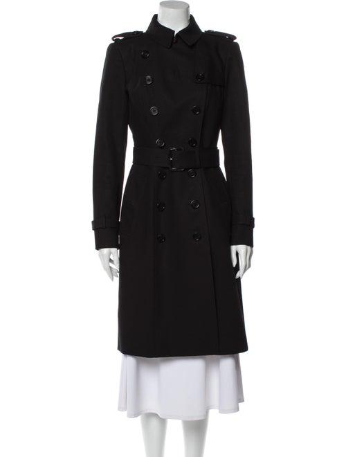 Burberry Prorsum Trench Coat Black