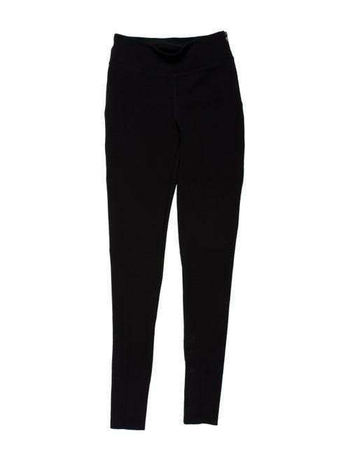 Burberry Prorsum Skinny Leg Pants Black
