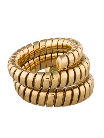 Tubogas Peridot Ring