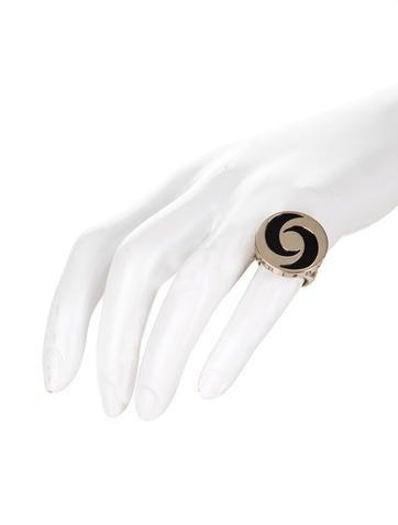 Optical Illusion Spin Ring