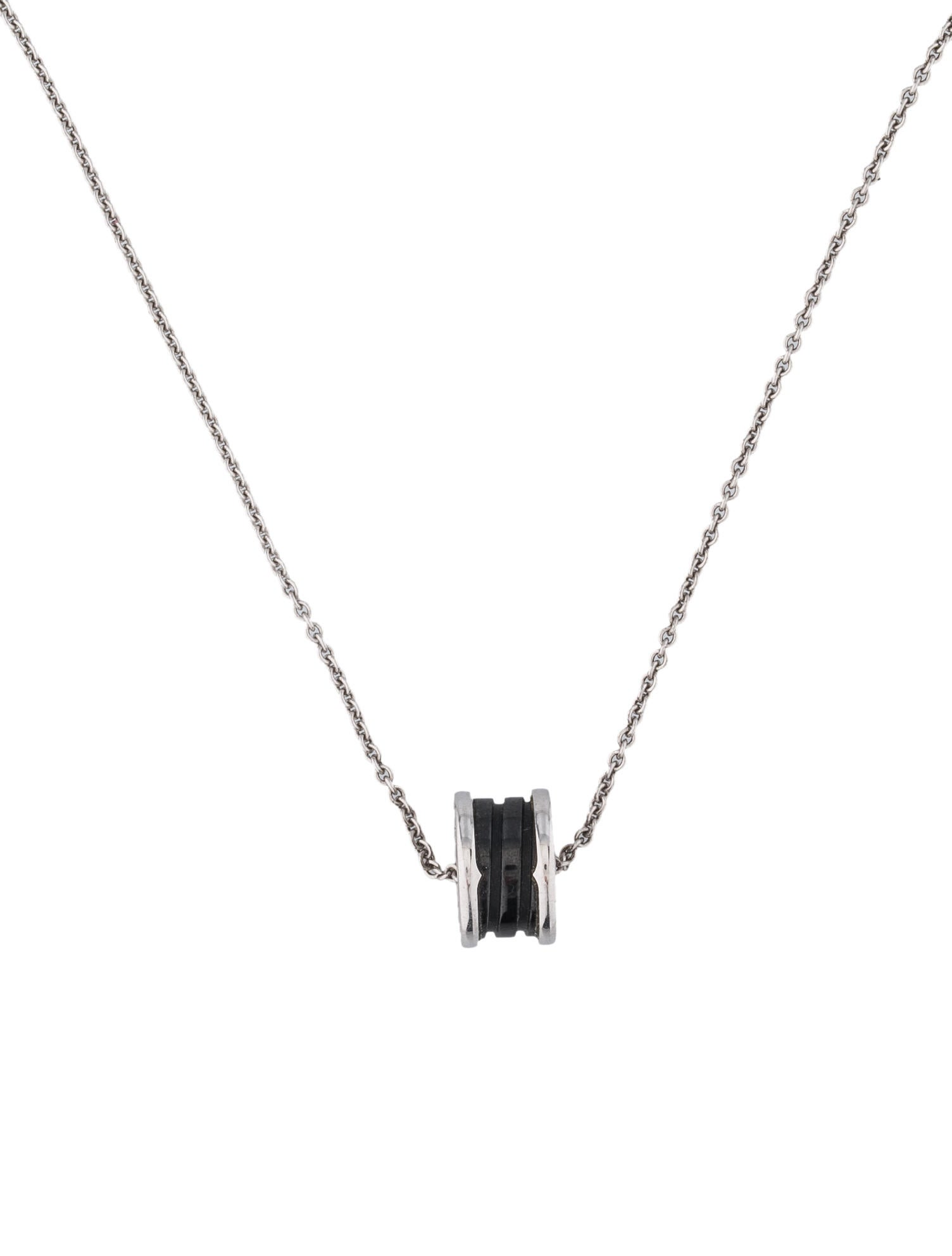bvlgari b zero1 necklace necklaces bul20875 the