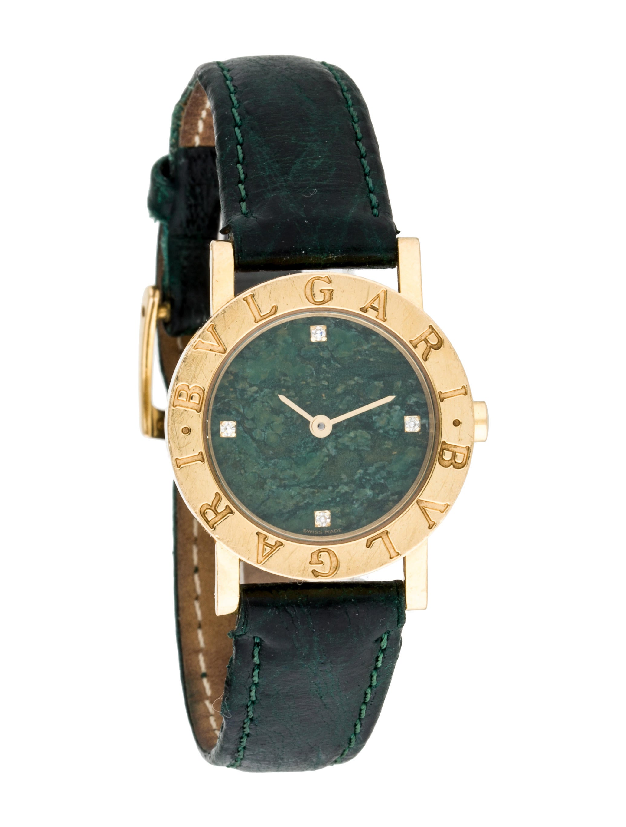 Bvlgari bvlgari watch strap bul24058 the realreal for Bvlgari watches