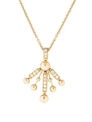 Bvlgari Diamond Pendant Necklace