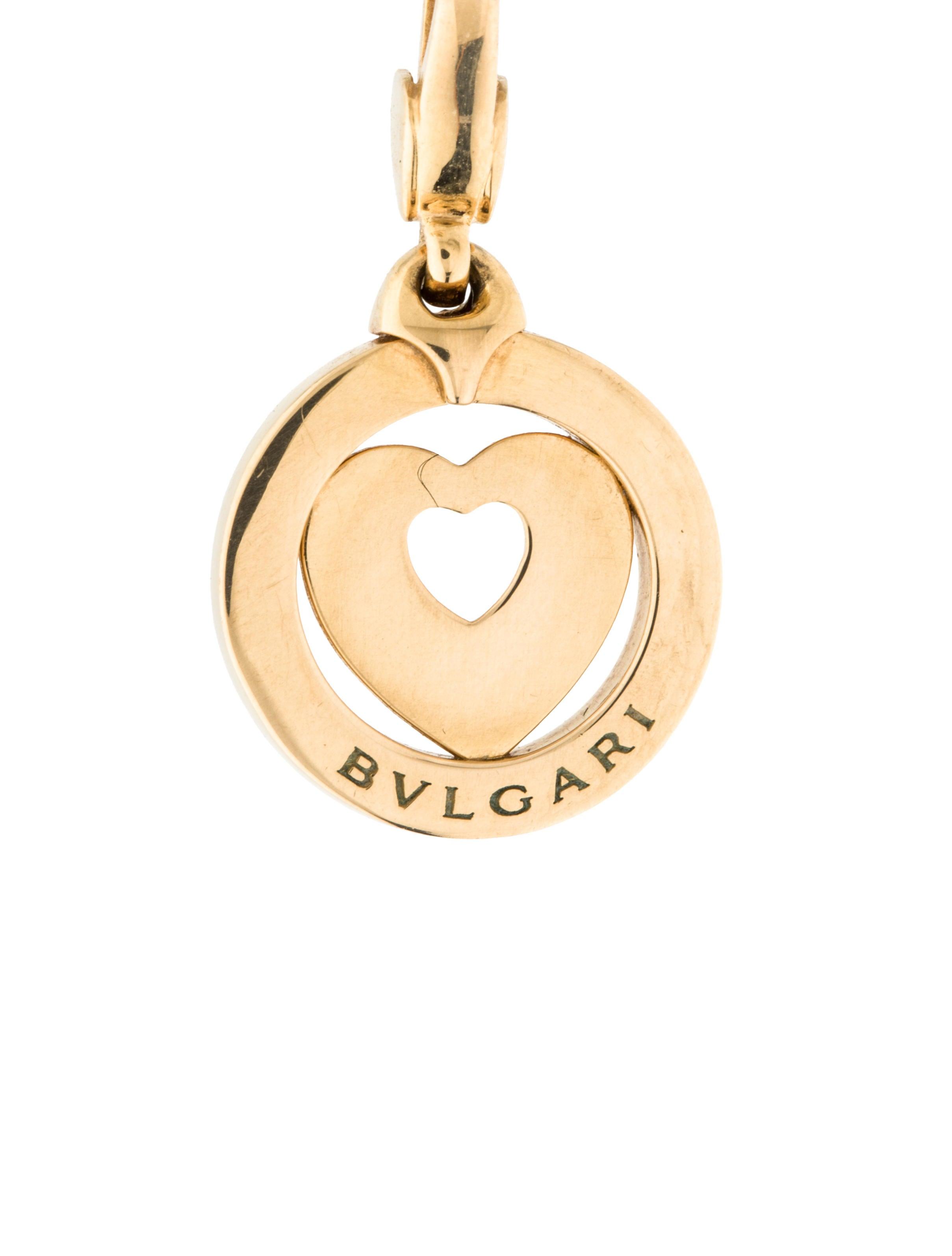 bvlgari tondo charm charms bul24835 the realreal