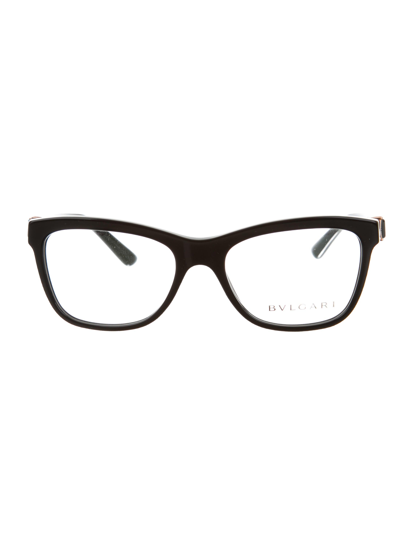 2261552189a Bvlgari Square Jewel Eyeglasses w  Tags - Accessories - BUL24897 ...