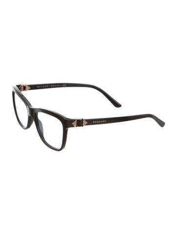 Square Jewel Eyeglasses w/ Tags