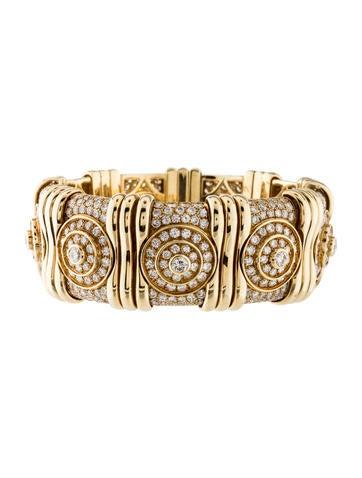 Bvlgari 18K Diamond Bracelet