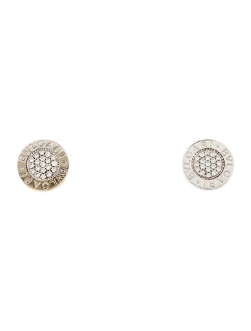 Bvlgari Bvlgari Bvlgari Diamond Stud Earrings