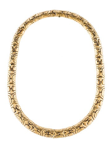 Bvlgari 18K Collar Necklace