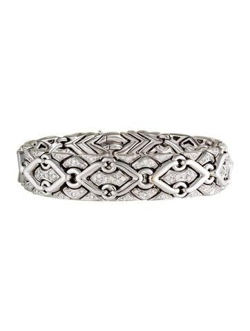Bvlgari Diamond Trika Bracelet
