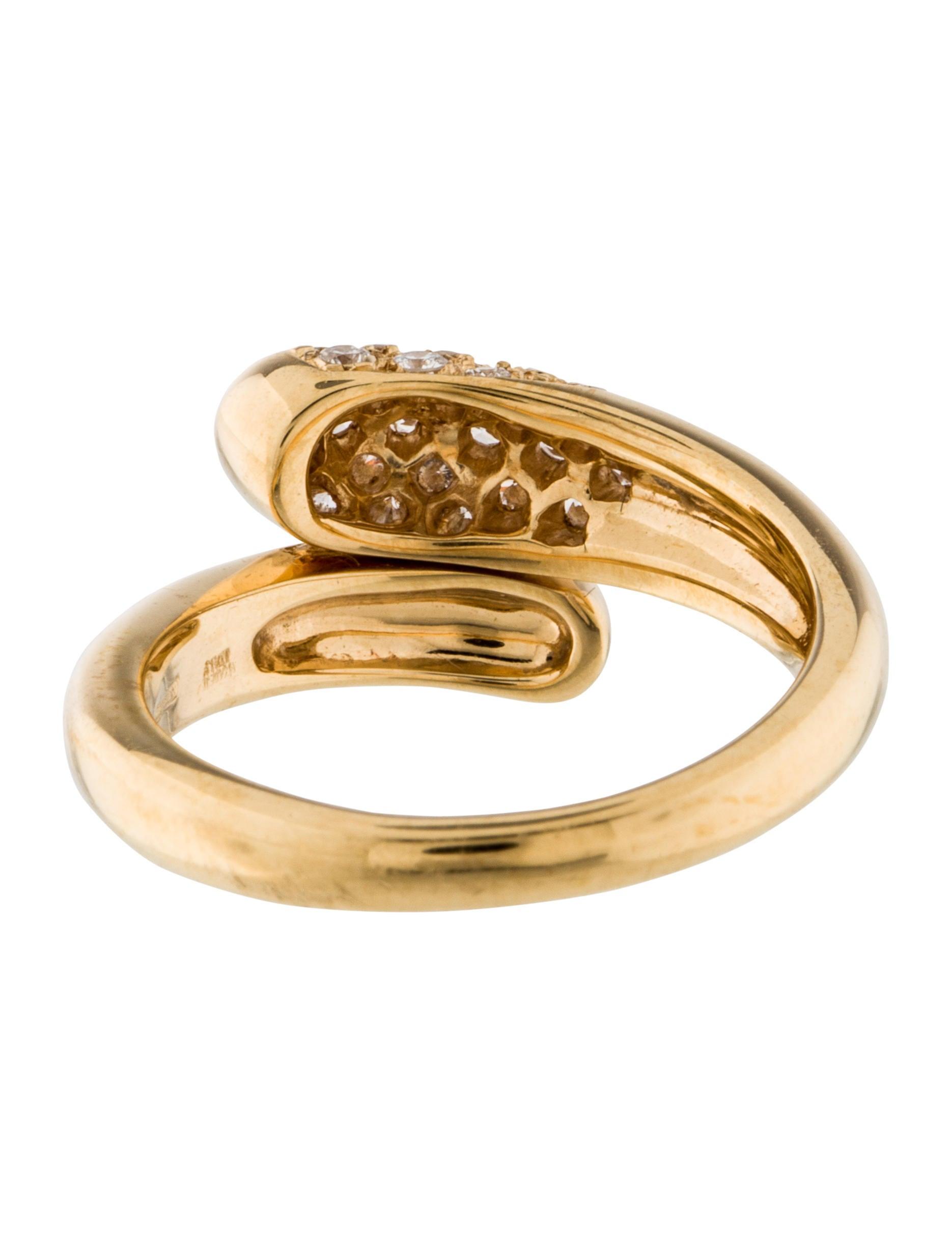 bvlgari 18k bypass ring rings bul25100 the