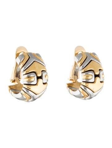 Bvlgari 18K Parentesi Earrings