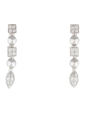 Bvlgari 18K Diamond Lucea Earclips