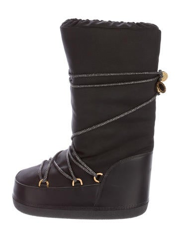 bvlgari leather moon boots shoes bul26125 the realreal