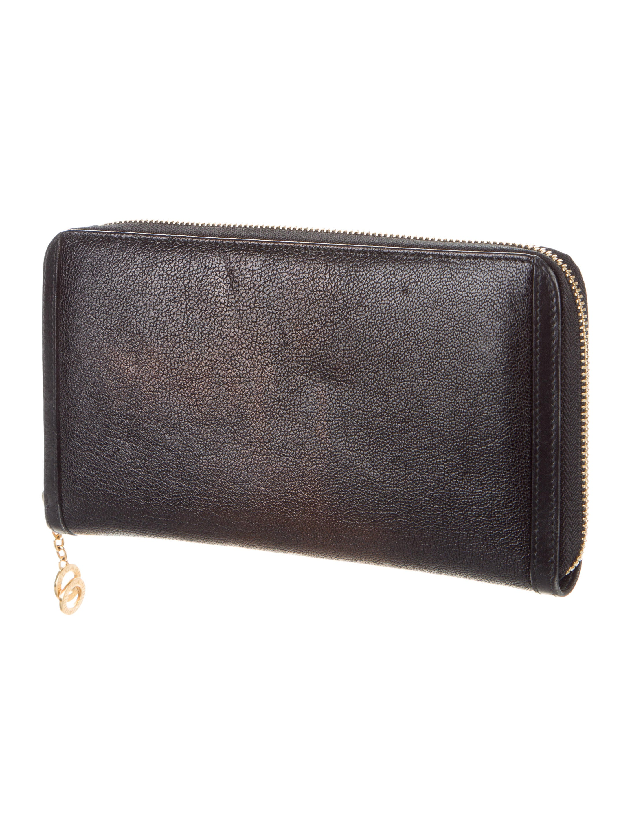 Bvlgari Leather Travel Wallet Accessories Bul26321