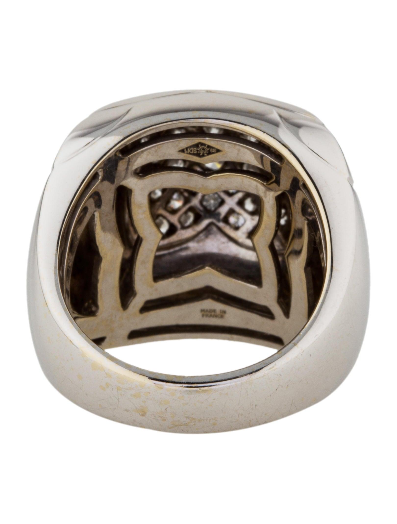 bvlgari 18k pyramide ring rings bul26370 the