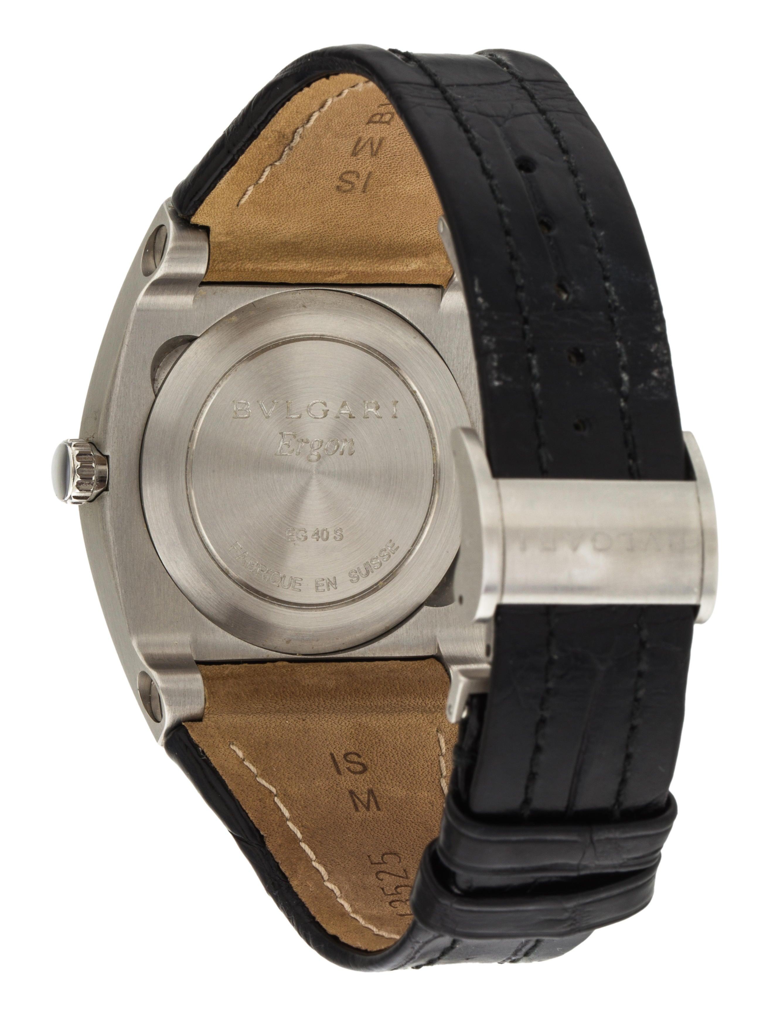 Bvlgari Ergon Watch - Strap - BUL27065 | The RealReal