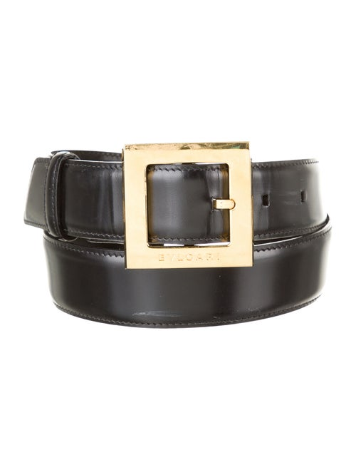Bvlgari Leather Hip Belt Black - image 1
