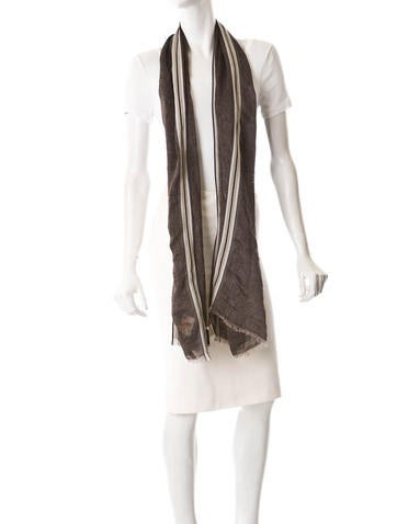 Linen Scarf w/Tags